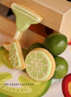 Margarita Cookies {Recipe}