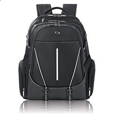 Solo 17.3 Laptop Backpack Hardshell Side Pockets Black This is ranked high among the best selling products in Luggage category in USA. Click below to see its Availability and Price in YOUR country.