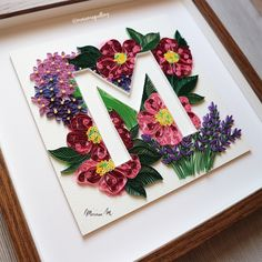 Typography Quilling