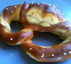 Authentic German Pretzels recipe from BBC Good Food - I'm definitely giving this one a shot!