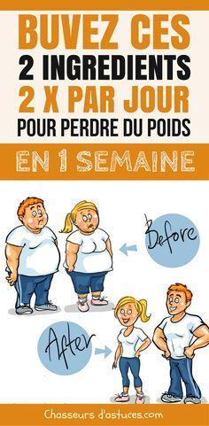 Des millions de personnes rêvent de perdre leurs kilos en trop ! Mais perdre du poids et être en forme, ce n'est tout simplement pas facile et ça nécessite pas mal de dévouement. Voici une solution minceur qui pourra vous aider à accélérer votre perte de poids en 1 semaine. La vérité c'est que mère nature nous offre des ingrédients naturels qui peuvent nous aider à perdre du poids en boostant... #régime #poids #perdredupoids #maigrir #maigrirsansstress #chasseursdastuces #astuces Health Diet, Health Fitness, Belly Fat Loss, Fat Burning Drinks, Training Day, Anti Cellulite, Sports Nutrition, Solution, Take Care Of Yourself