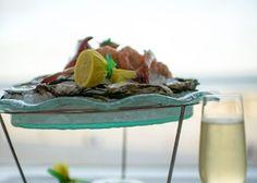 Seafood at Azure, Atlantic City, New Jersey. Looks so elegant! #eatac #ACRestaurantWeek