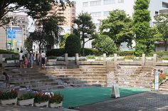 Waterplay area at Saitama City Hall!