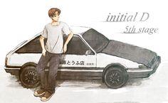 Takumi Fujiwara - Initial D