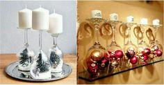 Jestli máte doma vyřazené sklenice, které nepoužíváte například sklenice od vína, tady máme pár vánočních triků, jak je využít. Stačí pár minut a máte nádhernou vánoční výzdobu. Například jako adventní výzdobu se svíčkami nebo jiné. Zde máme pro vás 19 skvělých tipů. Sklenice stačí jen umýt a otočit a můžete začít. Do sklenice si můžete …