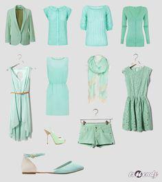 Mint colour