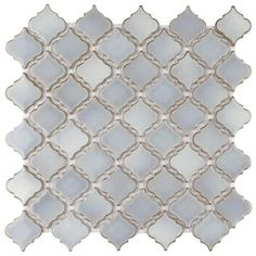 Shop SomerTile 12.375x12.5-inch Antaeus Grey Eye Porcelain Mosaic Floor and Wall Tile (10 tiles/10.7 sqft.) - Overstock - 9812411 Mosaic Wall, Mosaic Tiles, Wall Tiles, Shower Floor, Tile Floor, Birmingham, Noir Color, Marine Colors, Feature Tiles