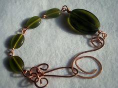 Emerald Garden Bracelet Emerald bracelet by MicheladasMusings, $17.00