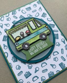 """40 Likes, 5 Comments - Christy Velasquez (@thestampcycle) on Instagram: """"How adorable is this Sale-a-bration stamp set Tasty Trucks!?!? And guess what, I got it free!! …"""""""