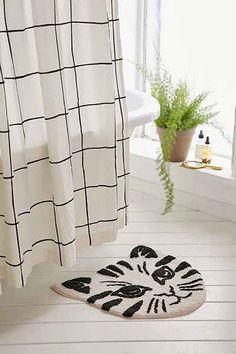 Pinterest The Worlds Catalog Of Ideas - Black cotton bath mat for bathroom decorating ideas