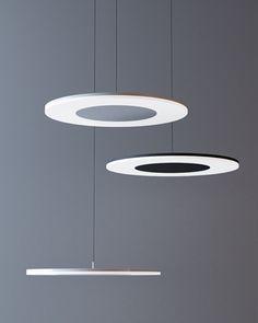 DISCÓBOLO pendant lamp / Produced by Mantra Iluminación / Designed by Hugo Tejada www.mantrailuminacion.com