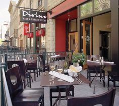 Traditional New York City-style bistro with modern decor and energetic atmosphere, and a wood-burning grill along with an extensive wine and cheese program. Places To Eat, Great Places, Cheese Shop, Pre And Post, Wine Cheese, City Style, Calgary, Wine Recipes, Modern Decor