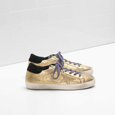 Golden Goose Super Star Sneakers Python-Print Metallic Leather Gold Women - Golden Goose / GGDB #women #supersneakers #fashion  #goldengoose #Christmas #Christmasgifts #gifts