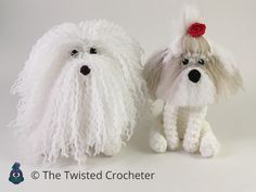 Base pattern for keepsake puppy. You can customize this puppy to create breeds such as: Yorkshire Terrier Shih Tzu Pomeranian Havanese Maltese Bichon Frise Lhasa Apso Coton De Tulear Tibetan Terrier Bearded Collie Cockapoo Goldendoodle Bolognese Instantly