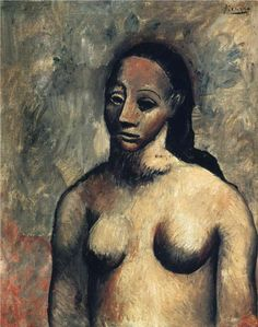 Bust of nude woman (1906) Pablo Picasso