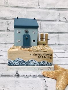 homedecor blue Coastal Art Driftwood Art Driftwood Decor Driftwood Cottage Coastal Farmhouse Shed Load Of Krafts Driftwood Sculptor Diy Christmas Crafts To Sell, Crafts To Make, Painted Driftwood, Driftwood Art, Seashell Crafts, Beach Crafts, Farmhouse Sheds, Coastal Farmhouse, Small Wooden House