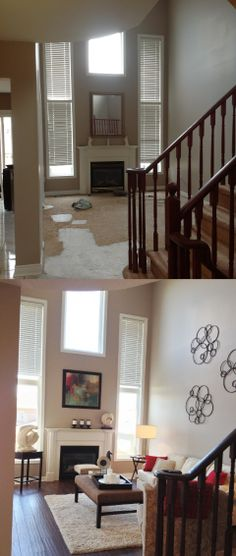 Home Staging Project in Ajax Ontario by Home Transitions Inside and Out. www.hometransitionsandstaging.ca