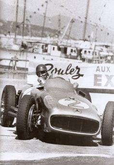 Juan Manuel Fangio Monte Carlo, 1955