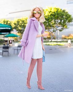 Adding fun frames and a bold bracelet to a classic look! ⭐️ #barbie #barbiestyle