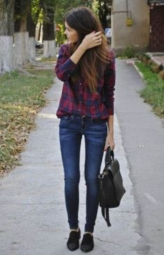 That shirt looks so comfy and great for fall.
