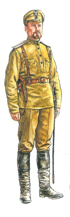 Captain of the Pinsk-Wolyn Volunteer Battalion, 1919