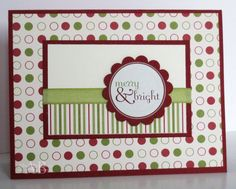 Embellished Paper: No Stamp Holly Jolly Christmas Set