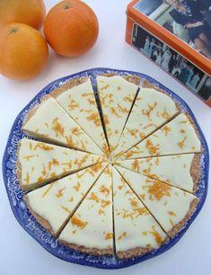 Boterkoek met witte chocolade en sinaasappel - De Zoetekauw
