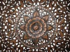 thailand round carving