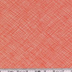 With Widescreen, designer Carolyn Friedlander fills an important fabric need: a modern, wide fabric for quilt backs! With the Hatch print from her Architextures collection, Carolyn brings us Widescreen and adds new colors to the mix. This quilting weight fabric is 100% cotton and is 108