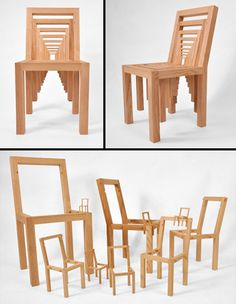 inception chair... it's a chair within a chair within... you get the idea.