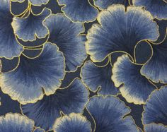 Kona Bay quilt cotton yardage Periwinkle Ginkgo Tonal