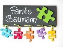 Best T rschilder Namensschilder und Buchstaben aus Holz Deko f r us Kinderzimmer liebevolle Kleinigkeiten