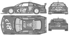 Image result for opel vectra GT blueprint
