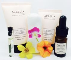 Probiotic skincare from Aurelia Bergamot, Natural Skin Care, Cleanser, The Balm, Glow, Skincare, Cleaning Supplies, Skin Care, Glitter