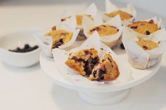 Blueberry and Lemon Coffee Cake Muffins
