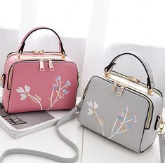 Women Floral Embroidery Retro Mini Crossbody Bag is designer, see other popular bags on NewChic Mobile. Cute Mini Backpacks, Stylish Backpacks, Fashion Handbags, Purses And Handbags, Fashion Bags, Sac Hermes Kelly, Tote Backpack, Mini Crossbody Bag, Girls Bags