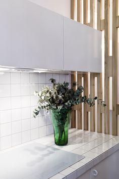 Vue cuisine/claustra