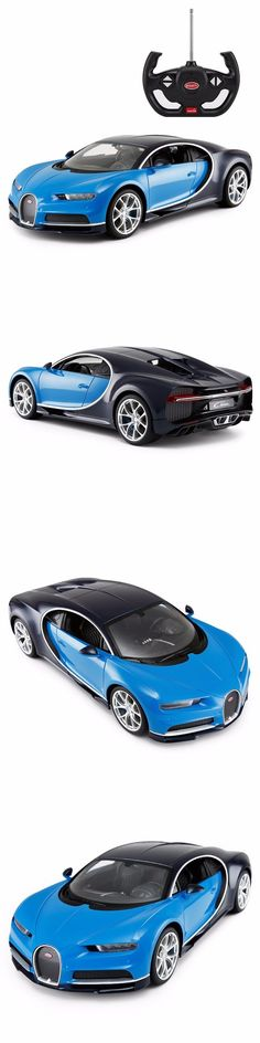 Cars Trucks and Motorcycles 182183: 1 14 Scale Bugatti Chiron Licensed Model Radio Remote Control Car R C Rtr Blue -> BUY IT NOW ONLY: $39.99 on eBay!