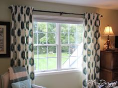 Excellent tutorial on pinched pleat drapes for our traverse rod in living room.   DIY by Design: How to Make Lined Pinch Pleat Drapes