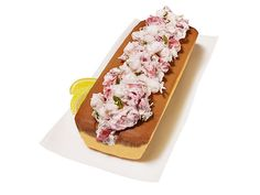 Fool your friends this weekend with a lobster roll doppelganger cake from Food Network Magazine. #FNMag