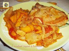 Braciole in umido con verdure, ricetta  Blog Profumi Sapori & Fantasia