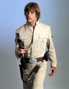 Mark Hamill, or, more commonly known as Luke.
