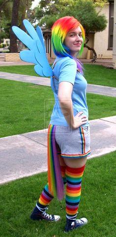 Rainbow Dash cosplay - Spunky by ~Emmalyn on deviantART