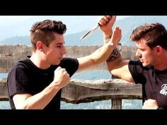 KRAV MAGA TRAINING • How to survive a Knife attack (part 2 of 4) - YouTube