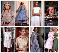 Grace Kelly as Tracy in High Society Helen Rose Grace Kelly Mode, Grace Kelly Style, Princess Grace Kelly, Helen Rose, High Society, Katharine Hepburn, Audrey Hepburn, Vintage Hollywood, Hollywood Glamour