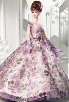 Looking for the Barbie Fashion Model Collection? Immerse yourself in Barbie history by visting the Barbie Signature Gallery at the official Barbie website! Barbie Style, Barbie Girl, Barbie And Ken, Barbie Vintage, Barbie Gowns, Barbie Dress, Barbie Clothes, Creation Couture, Barbie Collector