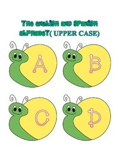 Numbers 1-100 and alphabet snails