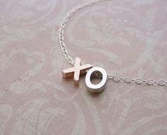 XO Charm Necklace Uncovet