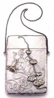 Art Nouveau Calling Card Case by Tiffany & Co   JV