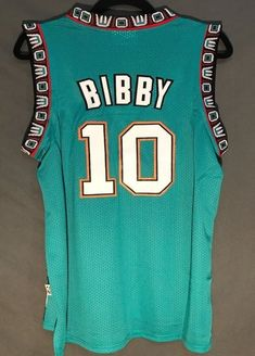 Men 10 Mike Bibby Jersey Green Vancouver Grizzlies Throwback Swingman e85e5ccae